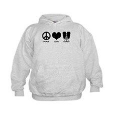 Peace Love Conga Hoodie