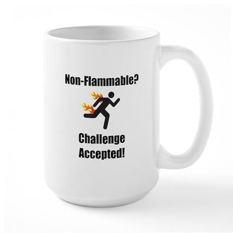 Non Flammable Large Mug