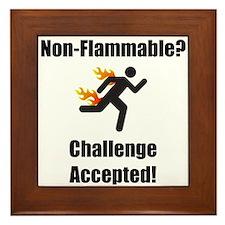Non Flammable Framed Tile