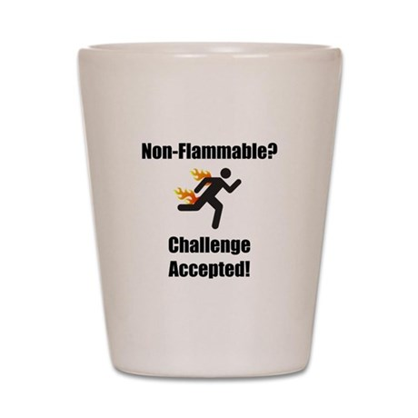 Non Flammable Shot Glass