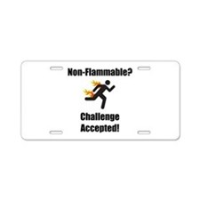Non Flammable Aluminum License Plate