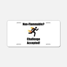Non Flammable Aluminum License Plate