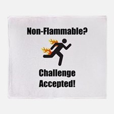 Non Flammable Throw Blanket