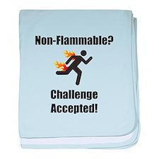 Non Flammable baby blanket