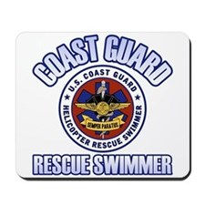 Rescue Swimmer Mousepad