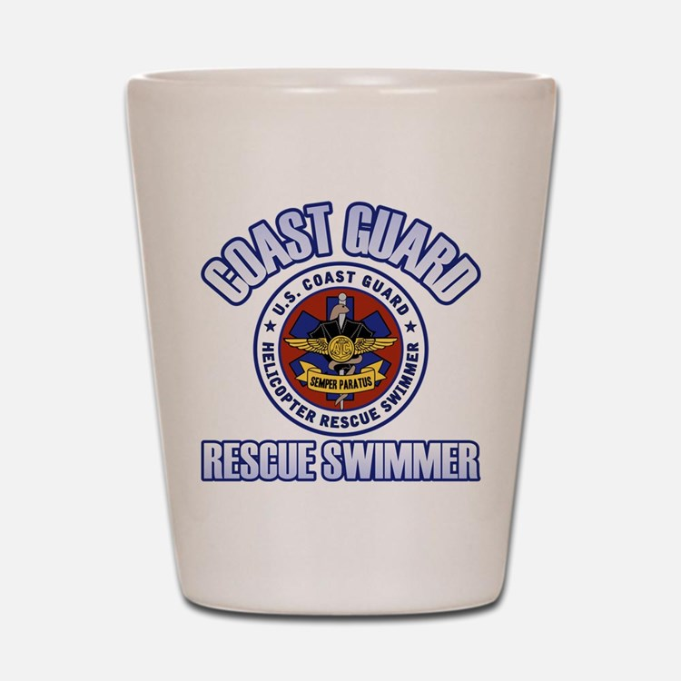 Rescue Swimmer Shot Glass