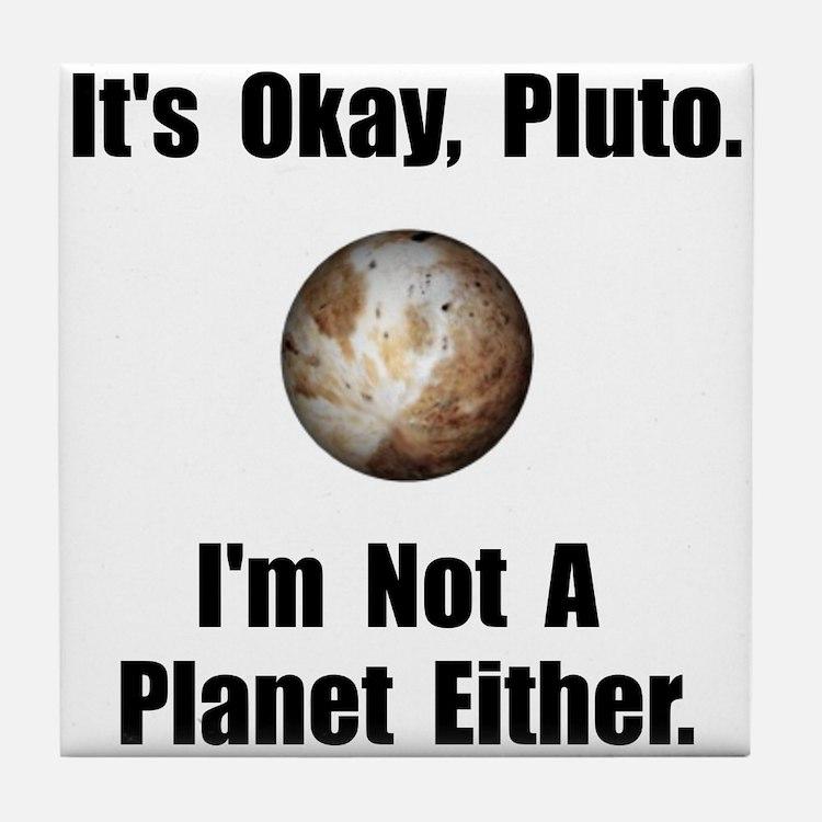 Pluto Planet Tile Coaster