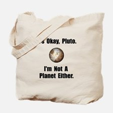Pluto Planet Tote Bag