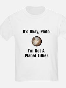 Pluto Planet T-Shirt
