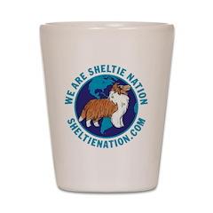 Sheltie Nation Shot Glass