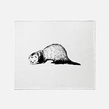 Ferret Throw Blanket