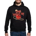 Dean Lassoed My Heart Hoodie (dark)