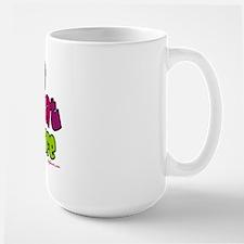 Adopt Shelter Cat (Rainbow) Large Mug