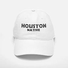 Houston Native Baseball Baseball Cap