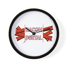 Bacon Portal Wall Clock