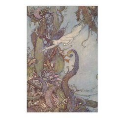 Dulac's Little Mermaid Postcards (Package of 8)