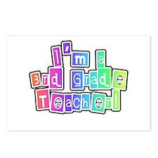 3rd Grade Teacher Postcards (Package of 8)