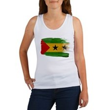 Sao Tome and Principe Flag Women's Tank Top