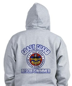 2-Sided Rescue Swimmer Zipped Hoody