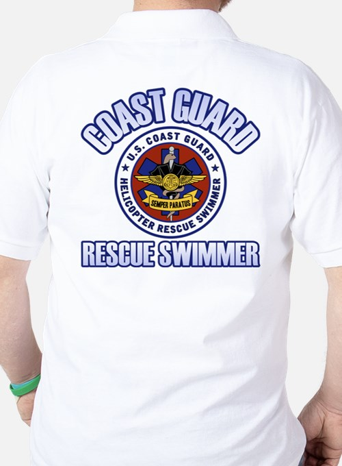 2-Sided Rescue Swimmer Golf Shirt