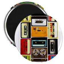 Retro Colored Cassettes Magnet