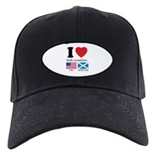 USA-SCOTLAND Baseball Hat