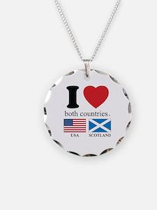 USA-SCOTLAND Necklace