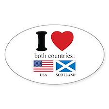 USA-SCOTLAND Decal