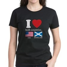 USA-SCOTLAND Tee