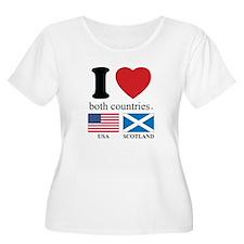 USA-SCOTLAND T-Shirt