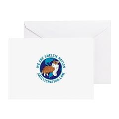 Sheltie Nation Greeting Card