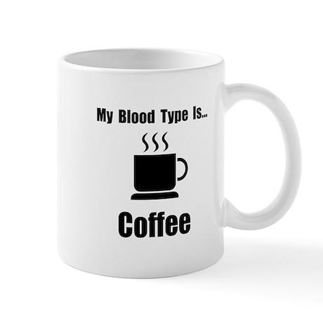 Blood Type Coffee Mug