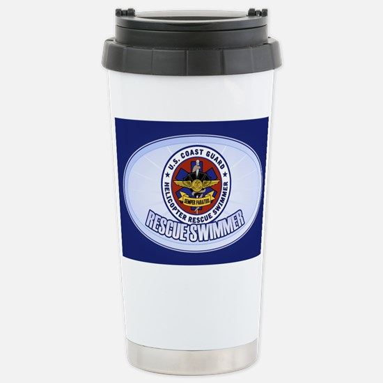 Rescue Swimmer Stainless Steel Travel Mug