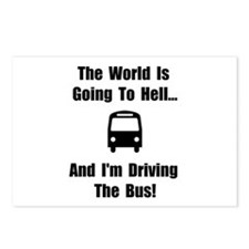 Bus To Hell Postcards (Package of 8)
