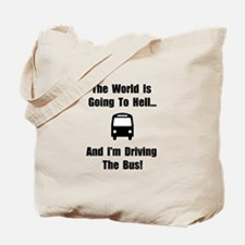 Bus To Hell Tote Bag