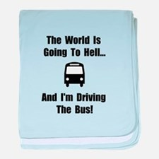 Bus To Hell baby blanket