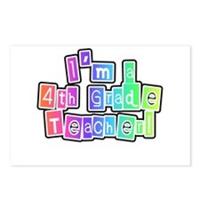4th Grade Teacher Postcards (Package of 8)