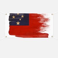 Samoa Flag Banner