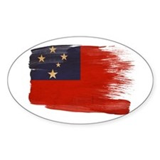 Samoa Flag Decal