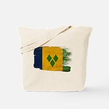Saint Vincent Flag Tote Bag
