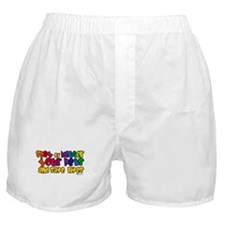 Spay Neuter Rainbow Boxer Shorts