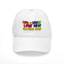 Spay Neuter Rainbow Baseball Cap