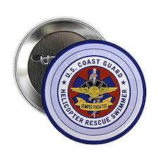 """Rescue Swimmer 2.25"""" Button"""