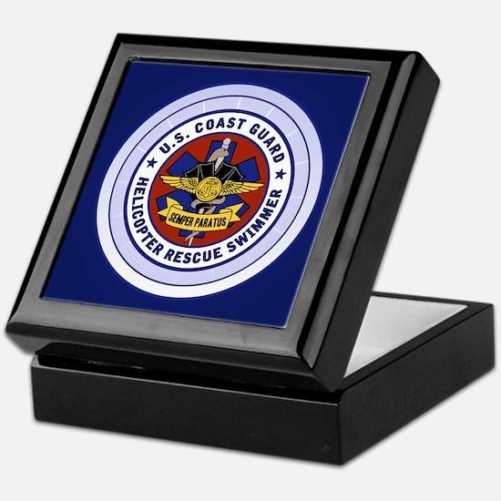 Rescue Swimmer Keepsake Box