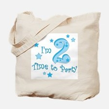 Second / 2nd birthday toddler boy Tote Bag