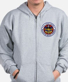 Rescue Swimmer Patch Zipped Hoody