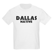 Dallas Native Kids T-Shirt