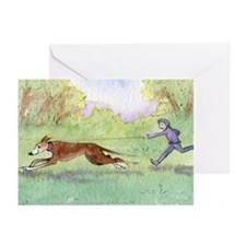Morning run Greeting Cards (Pk of 20)