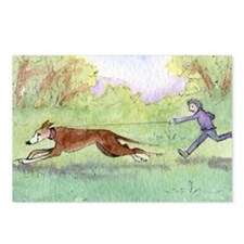 Morning run Postcards (Package of 8)