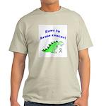 Rawr to Brain Cancer! Light T-Shirt